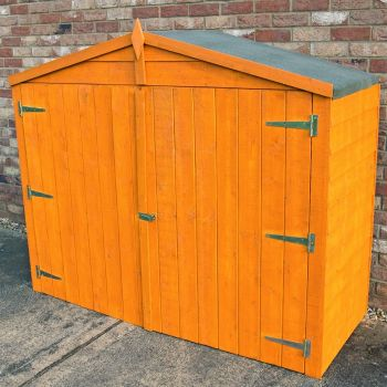 Loxley 7' x 3' Overlap Apex Bike Shed