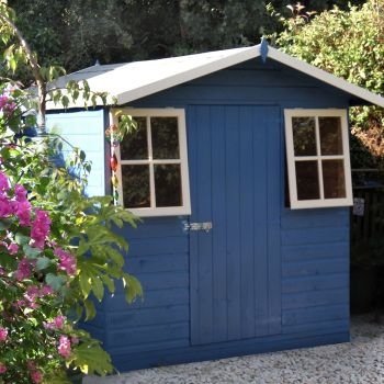 Loxley 7' x 7' Traditional Shiplap Apex Shed