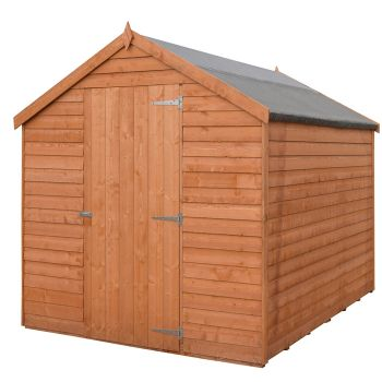 Loxley 5' x 7' Windowless Overlap Apex Shed