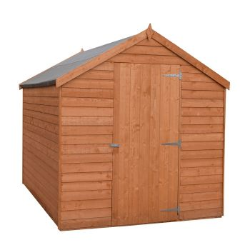 Loxley 6' x 8' Windowless Overlap Apex Shed