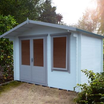 Loxley 3.4m x 2.4m Crosby Log Cabin