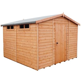 Loxley 10' x 10' Shiplap Apex Security Shed