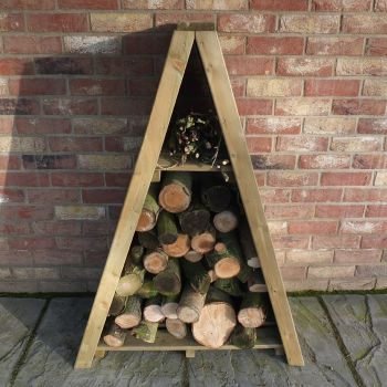 Loxley Small Overlap Triangular Log Store