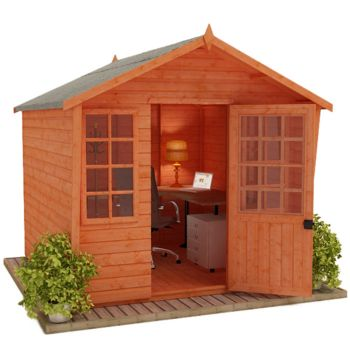 Redlands 8' x 8' Mandarin Summer House