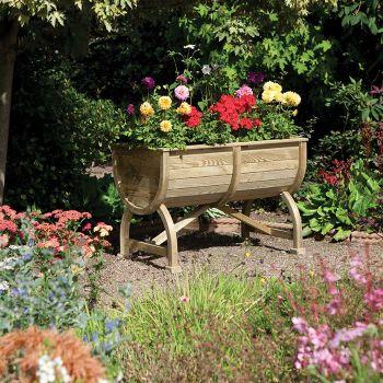 Rowlinson Marberry Barrell Planter