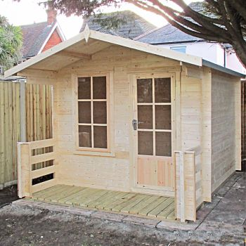 Loxley  2.4m x 2.4m Kingham Log Cabin