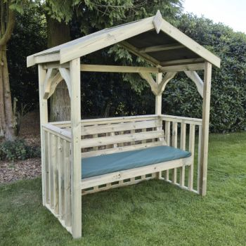 Moorvalley 3 Seater Modern Arbour