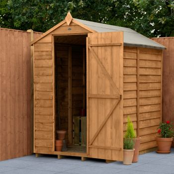 Hartwood 4' x 6' Windowless Overlap Apex Shed