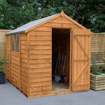 Hartwood 6' x 8' Overlap Apex Shed