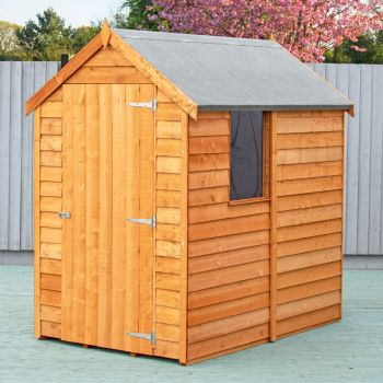 Loxley 4' x 6' Overlap Apex Shed