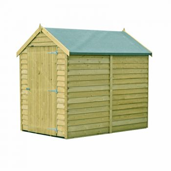 Loxley 6' x 4' Pressure Treated Overlap Apex Shed