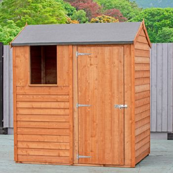 Loxley 6' x 4' Overlap Reverse Apex Shed