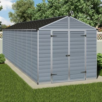Palram 8' x 22'  Skylight Plastic Grey Shed