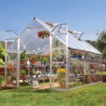 Palram 8' x 12' Balance Silver Greenhouse