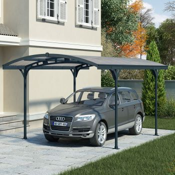 Palram Deluxe Freestanding Car Shelter