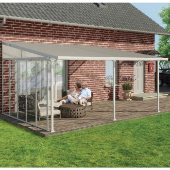 Palram Small White Patio Canopy