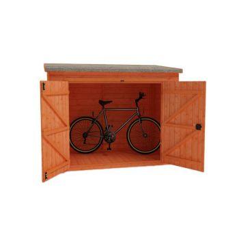 Redlands 7' x 3' Shiplap Pent Bike Shed