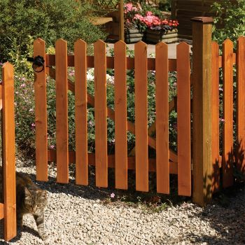 Rowlinson 6' x 4' Picket Fence Panel