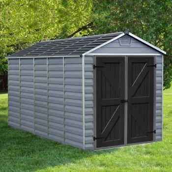 Rowlinson 6' x 12' Skylight Plastic Grey Deco Shed