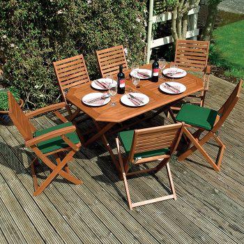 Rowlinson Plumley Garden Dining Set