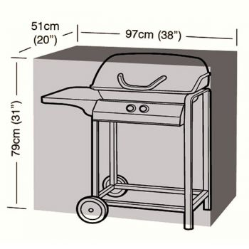 Protector - Small Classic BBQ Cover - 97cm