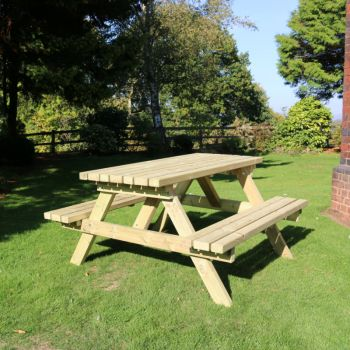 Moorvalley Classic Large Picnic Table