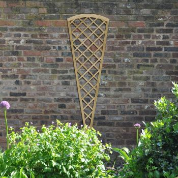 Hartwood Diamond Fan Lattice