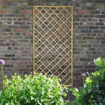 Hartwood 6' x 3' Diamond Lattice