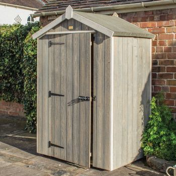 Rowlinson 4' x 3' Windowless Heritage Shed