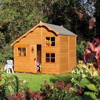 Rowlinson 8' x 7' Playaway Swiss Cottage