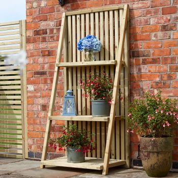 Rowlinson Slatted Plant Stand