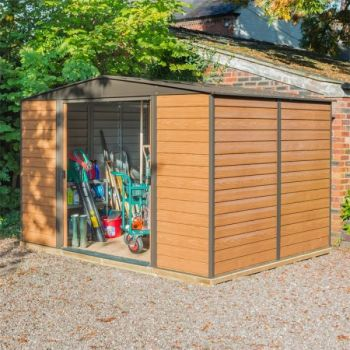 Rowlinson Woodvale 10' x 8' Apex Metal Shed