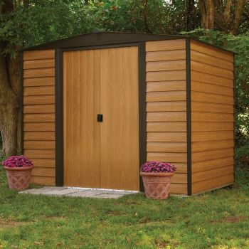 Rowlinson Woodvale 10' x 6' Apex Metal Shed