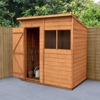 Hartwood 6' x 4' Shiplap Pent Shed