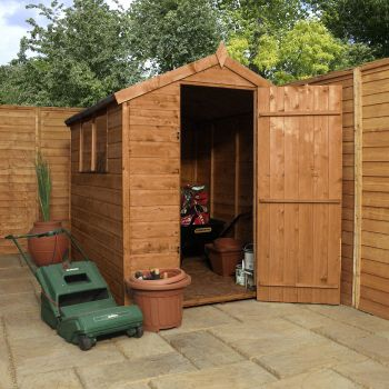 Adley 5' x 7' Pressure Treated Shiplap Apex Shed