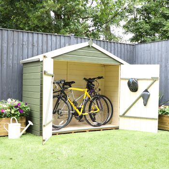 Adley Pressure Treated Shiplap Apex Bike Shed