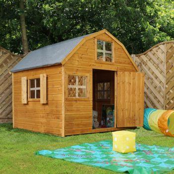 Adley 6' x 6' Jellytot Dutch Barn Playhouse