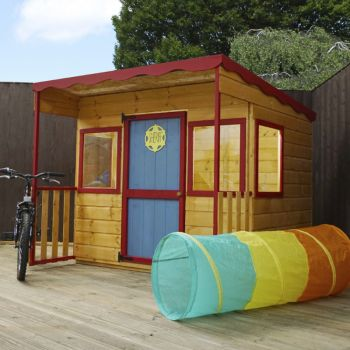 Adley 6' x 5' Jellytot Lion Playhouse