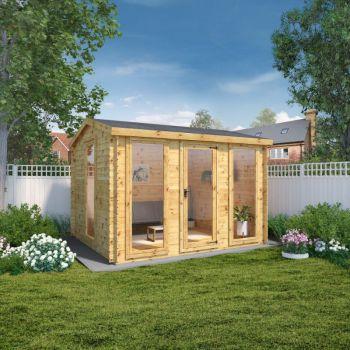 Adley 3.5m x 3m Dorset Log Cabin