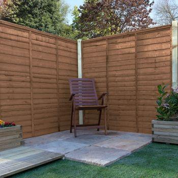 Adley 6' x 6' Pressure Treated Lap Fence Panel