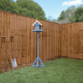 Adley 5' x 6' Pressure Treated Vertical Hit & Miss Fence Panel - Closed Boarded