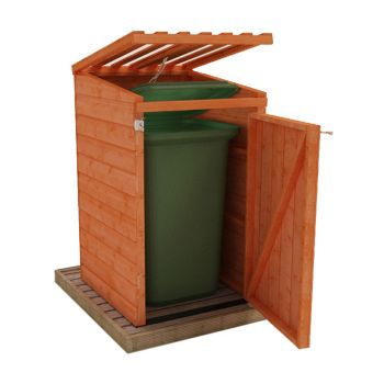 Redlands Shiplap Single Bin Store