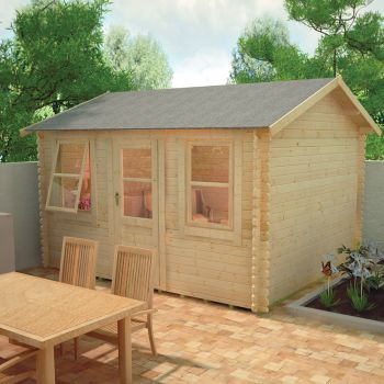 Redlands 4.2m x 3m Torrey Log Cabin