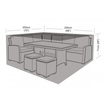 Cover Up - Small Casual Dining Set Cover - 250cm