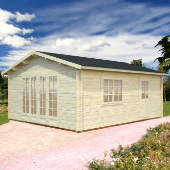 Stour 3.6m x 5.5m Berkshire Log Cabin