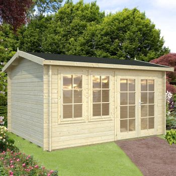 Stour 3.9m x 3m Essex Log Cabin