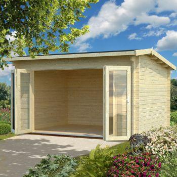 Stour 3.9m x 3m Nottinghamshire Log Cabin