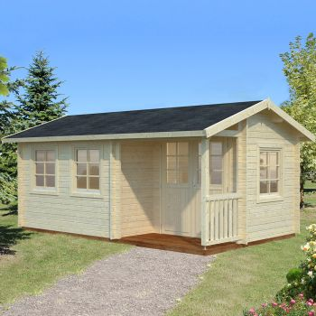 Stour 5.1m x 3m Cheshire Log Cabin