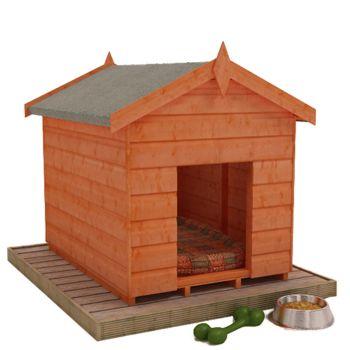 Redlands 4' x 3' Shiplap Dog Kennel