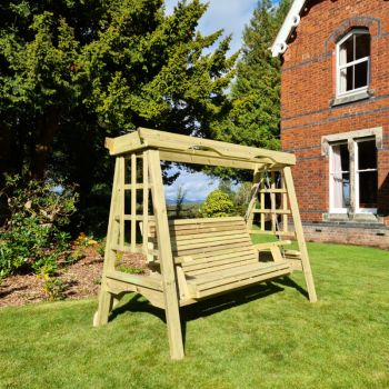 Moorvalley 3 Seater Classic Trellis Swing Seat